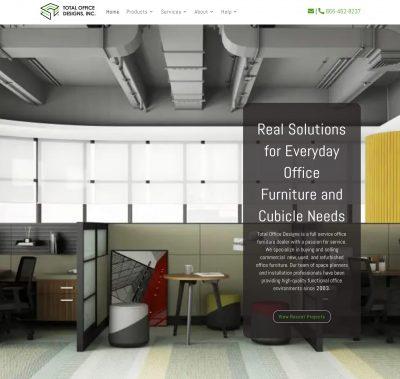 Total Office Designs Website